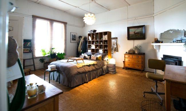 farblicher Einklang Schlafzimmer charmevoll warme Farben schöner - schlafzimmer braun weiß