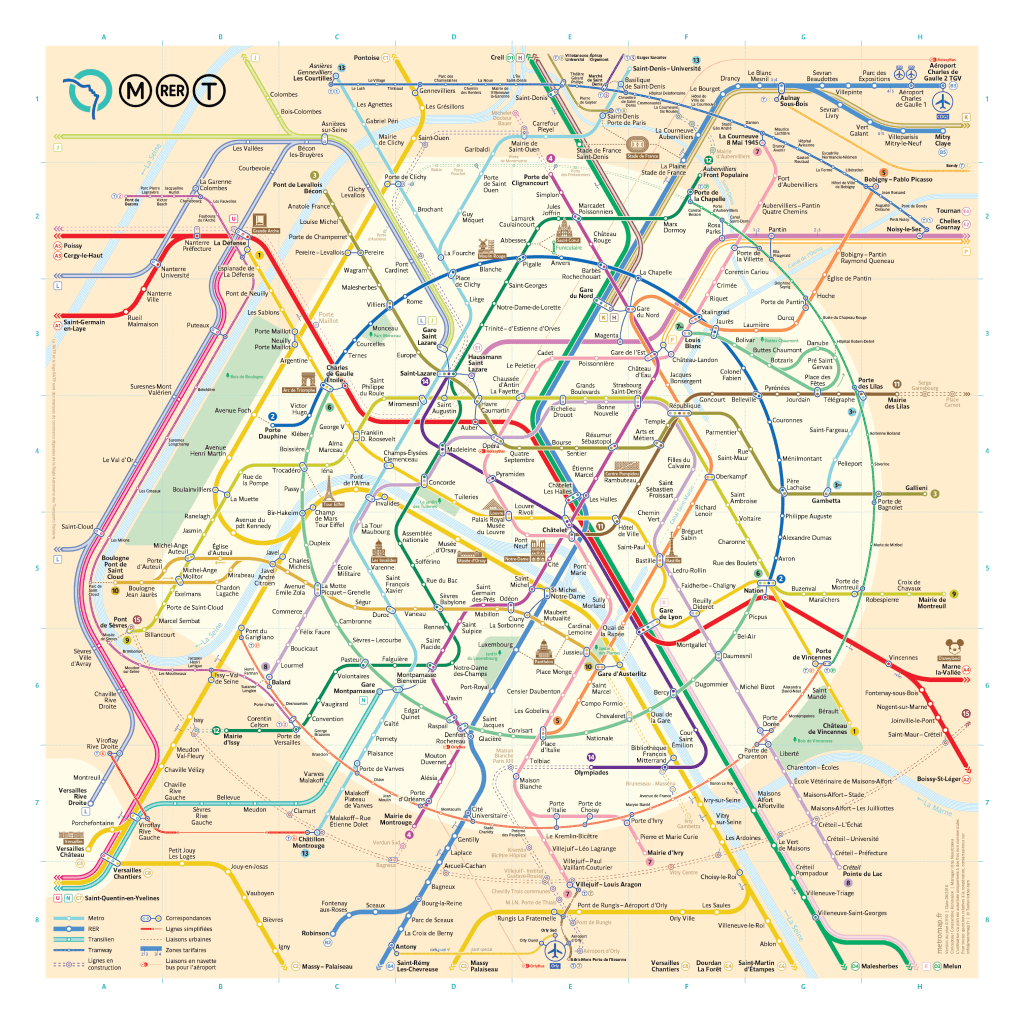 Sena Hospitality Design: How To Use Paris Metro, Step By Step Guide To Not Get Lost