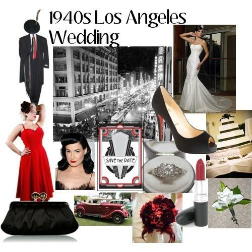 1940 S Themed Wedding Some Help Needed Please Red Inspiration Board 1940s Theme