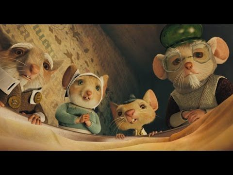 filme o corajoso ratinho despereaux dublado