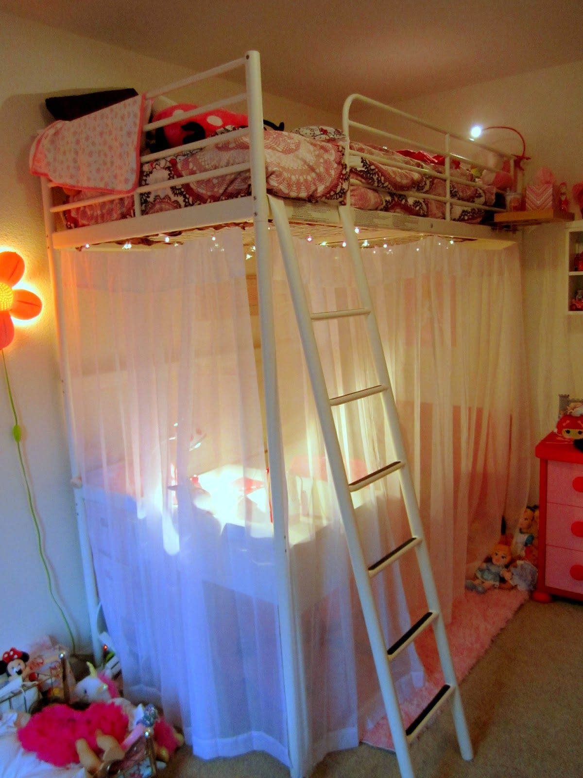 Loft bed decorating ideas  IMGJPG   Cabanas  Pinterest  Bedrooms Room and