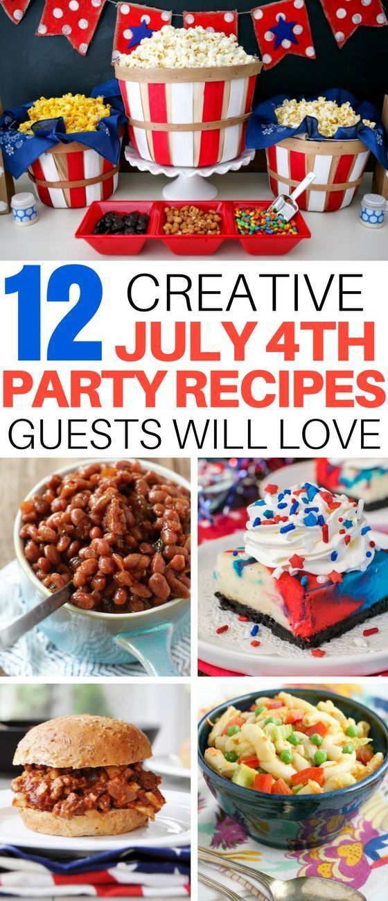 Fourth Of July Party Recipe Ideas With Vegan Options