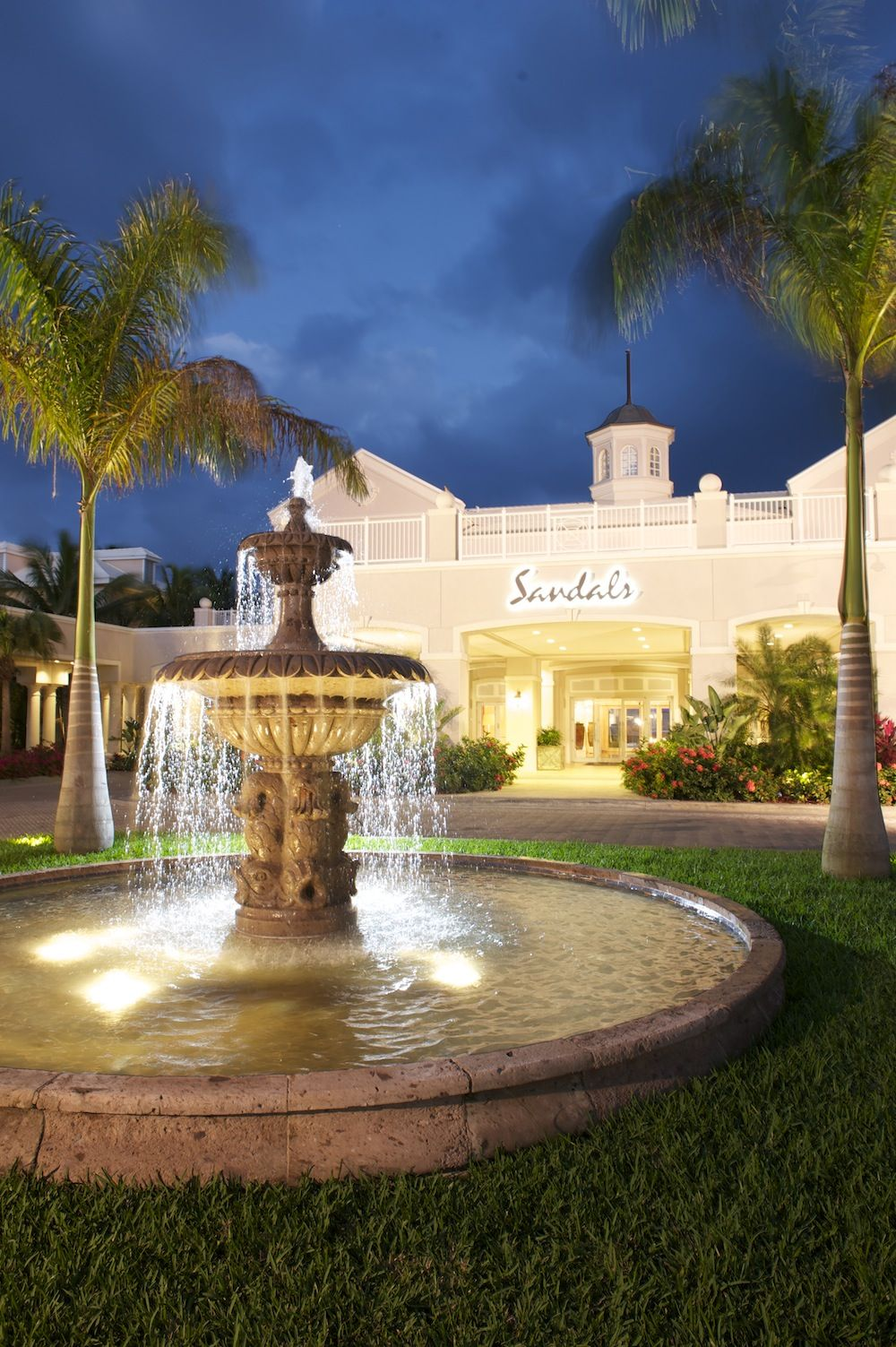 Entrance To Sandals Emerald Bay Sandals Resorts The