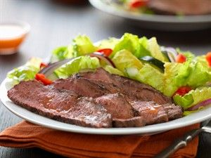 While a Tri-Tip is grilling, prepare a salad of lettuce, cucumber, red pepper, onion, basil and mint. The flavor combination will whisk you away to the islands.
