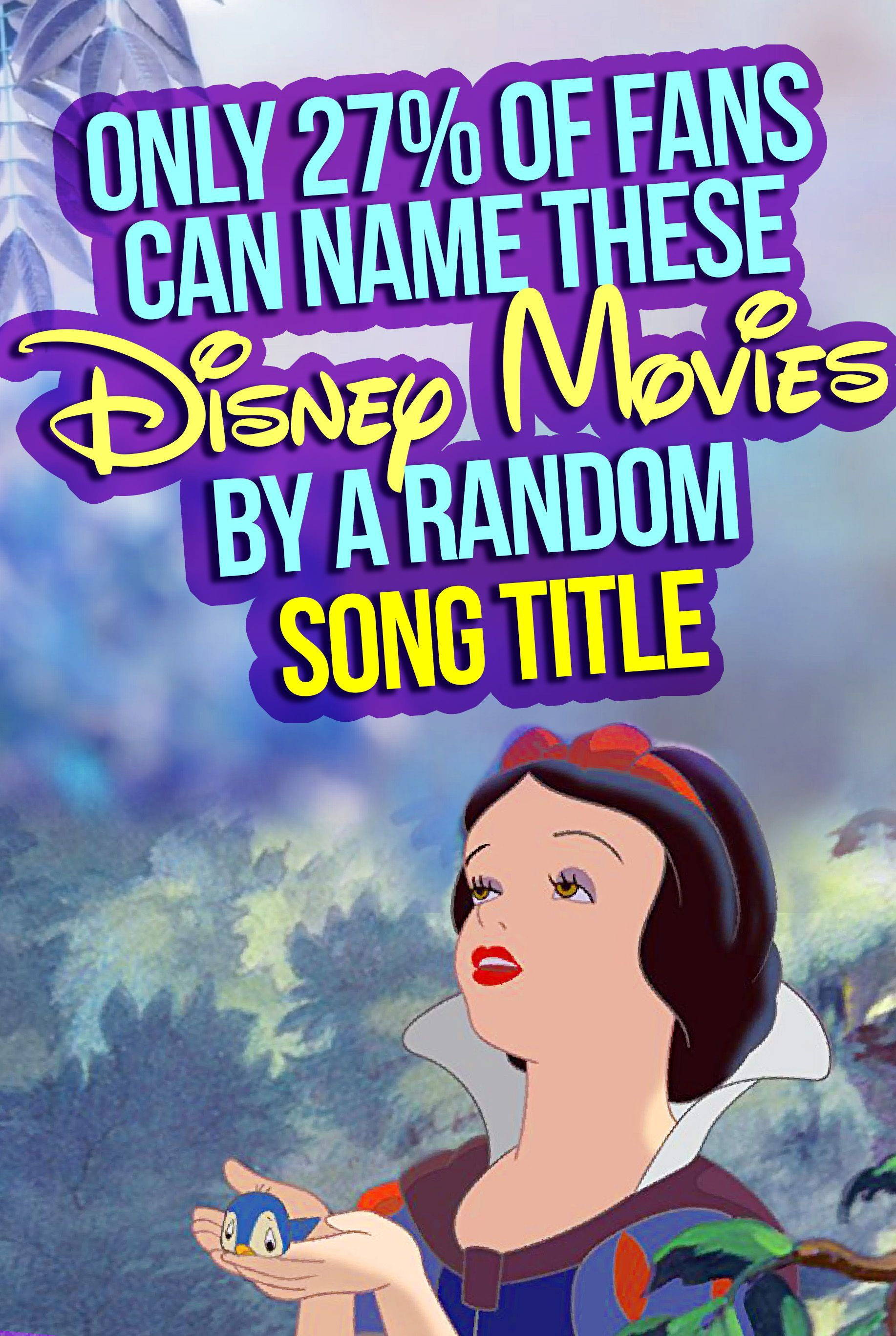 Disney Quiz Can You Name All These Disney Movies By A