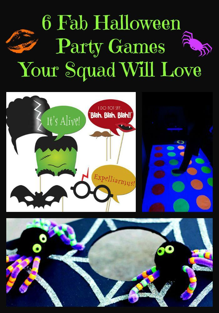 6 Fab Halloween Party Games Your Squad Will Love | Halloween party ...