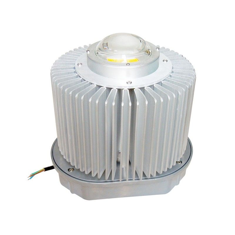 Cylindrical Aluminium 200w High Power Led Lens Heatsink Kit For 200 Watt High Power Led Lights