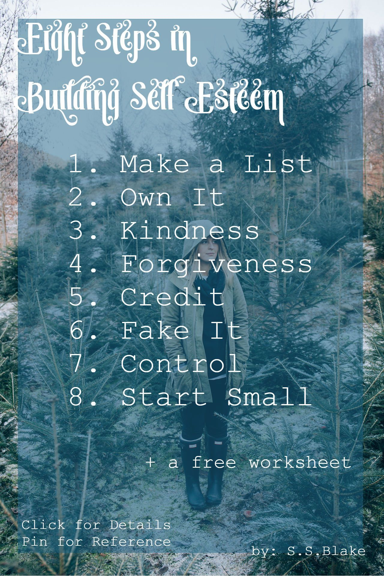 8 Simple Steps To Build Your Self Esteem
