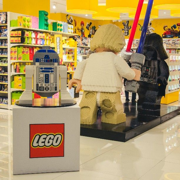 New! Lego store on grand city surabaya..may the brick be with you ...