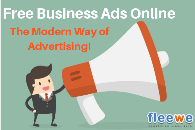 Free Business Ads Online The Modern Way Of Advertising