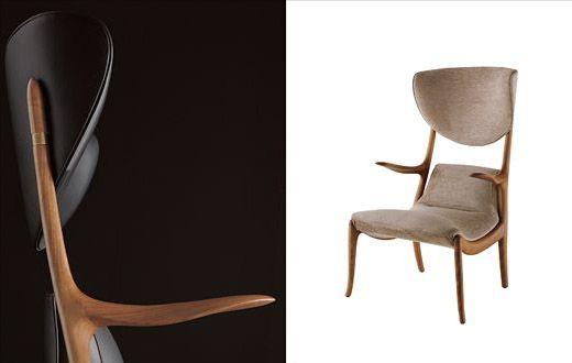 Star Trek Chair Designed By Roberto Lazzeroni For Ceccotti Collezioni.