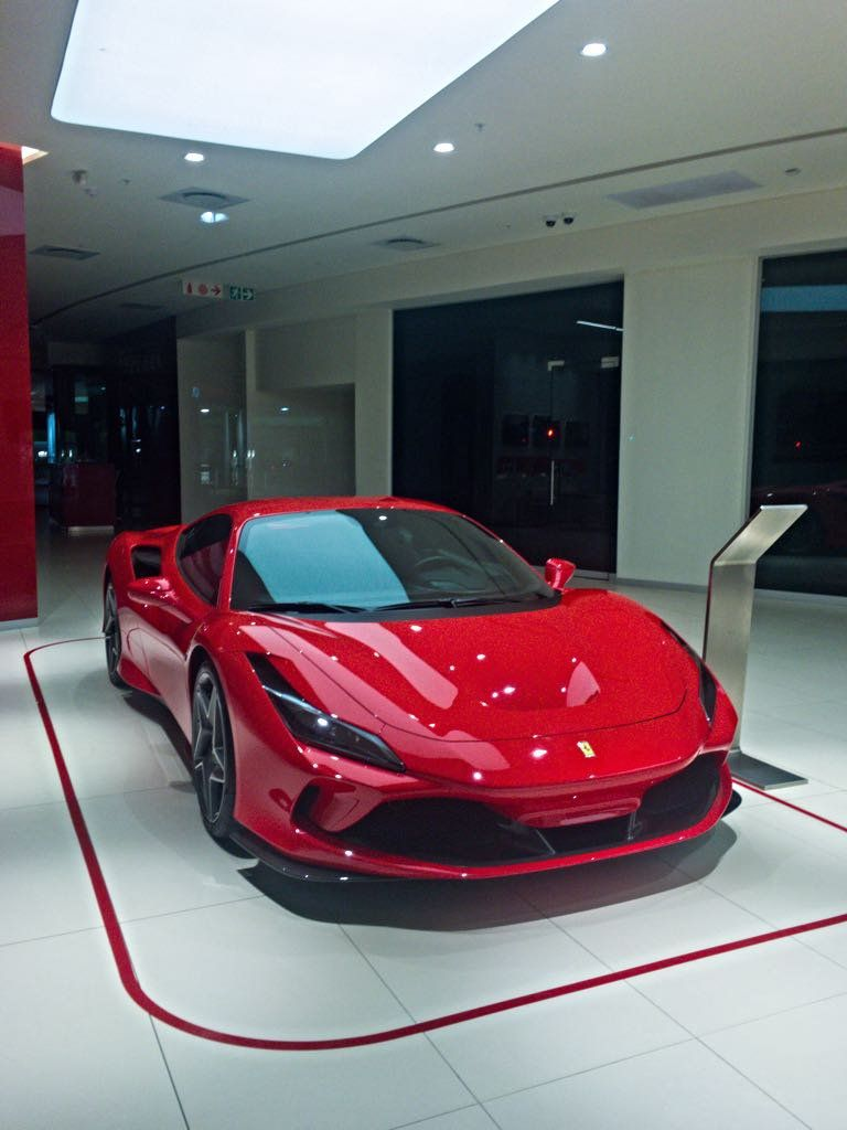 Ferrari F8 Tributo After Being Launched In South Africa Recently Bmw Classic Cars Sports Cars Luxury Ferrari