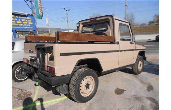 Puch G 300 GDN 6-2 Pickup / Pritsche, 1988, 84.500 km, € 27.000, - - willhaben.at