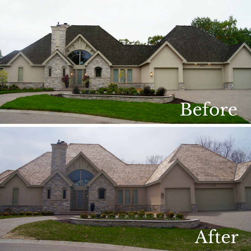 Cedar Shake Roofing Ages To An Ashy Color It Typically Can Last 25 To 30 Years But Significant Fraying Or Cupping Is A S House Styles House Installing Siding