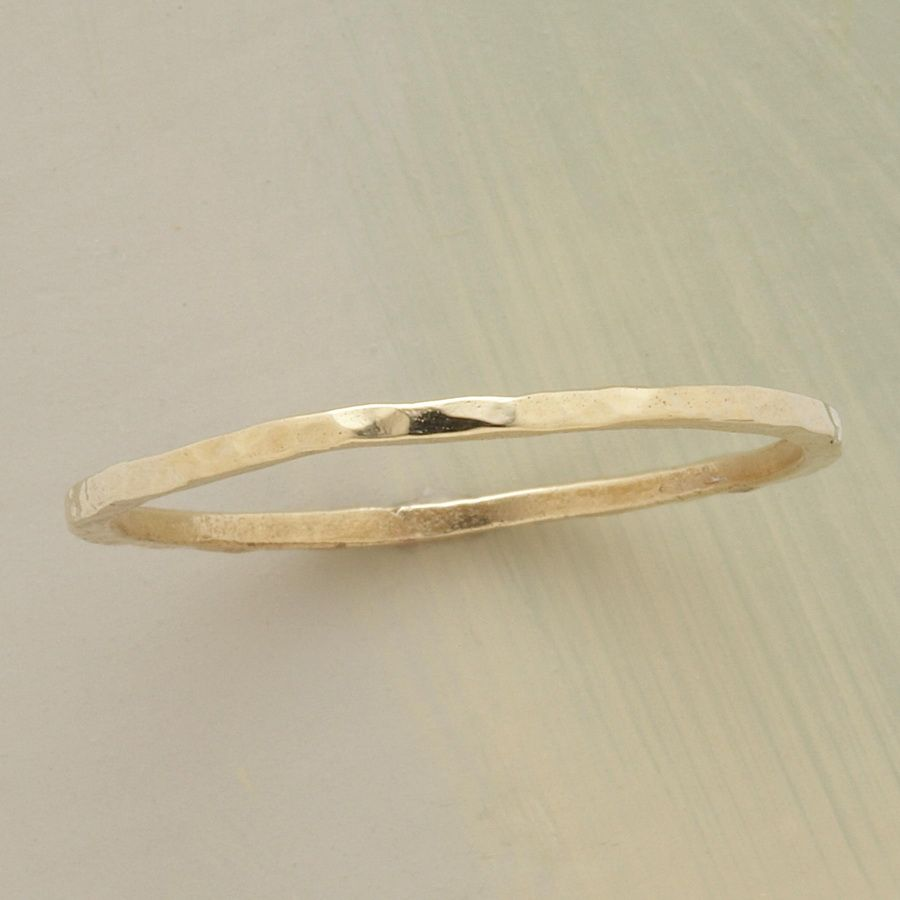 gold band bands harmony fairtrade wedding arabellebrusan arabel product flat ring lebrusan by original thin