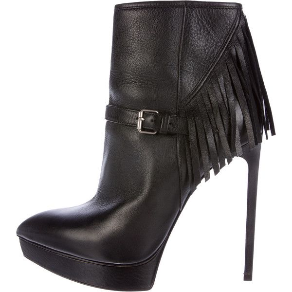 Cheap Price Discount Authentic Pre-owned - LEATHER BOOTS Saint Laurent Shopping Online For Sale LcjrIiH70c