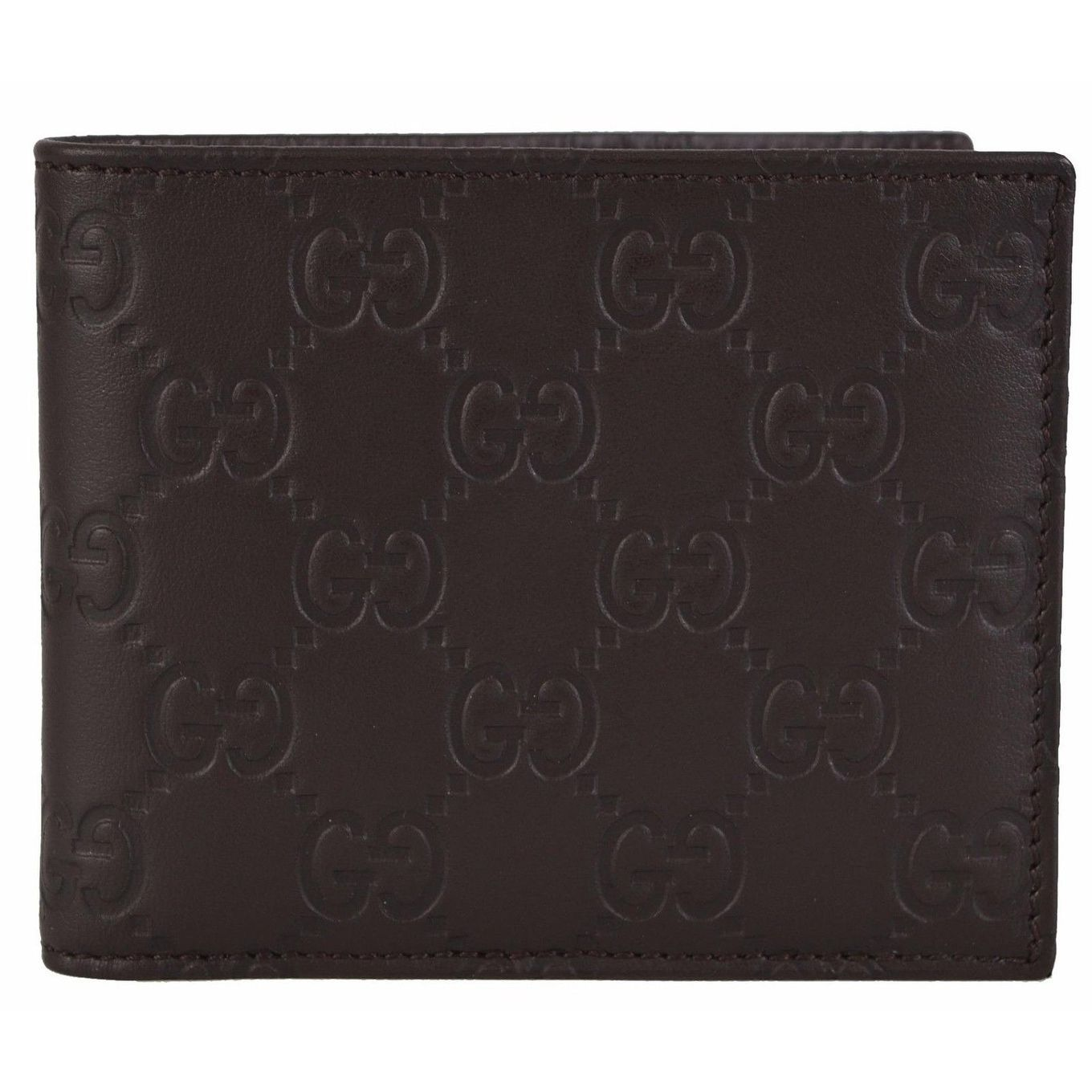 a0062bc04485 NEW Gucci 260987 Men39s GG Guccissima Bifold Wallet Products