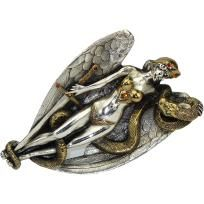 Boutique Quality Rhinestone Angel Belt Buckle