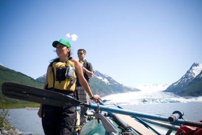 Spencer Lake Iceberg Float | Things to Do In Girdwood