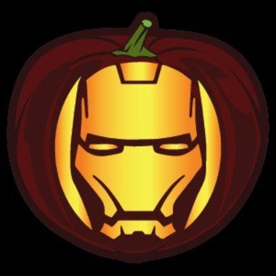 pumpkin carving template iron man  Pop Culture Pumpkin Printables | Disney pumpkin carving ...