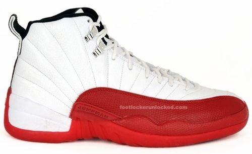 Air Jordan 12 OG Cherry White Black