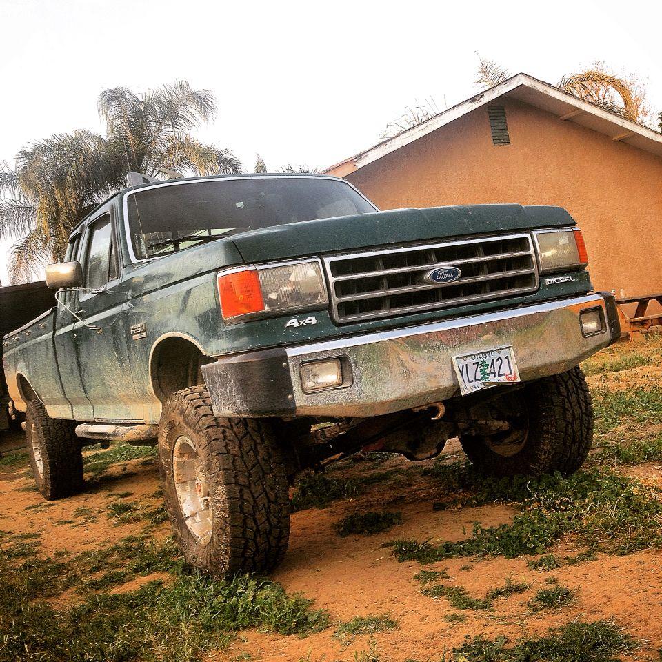 1990 ford f250 73l diesel non turbo | ford trucks | Old
