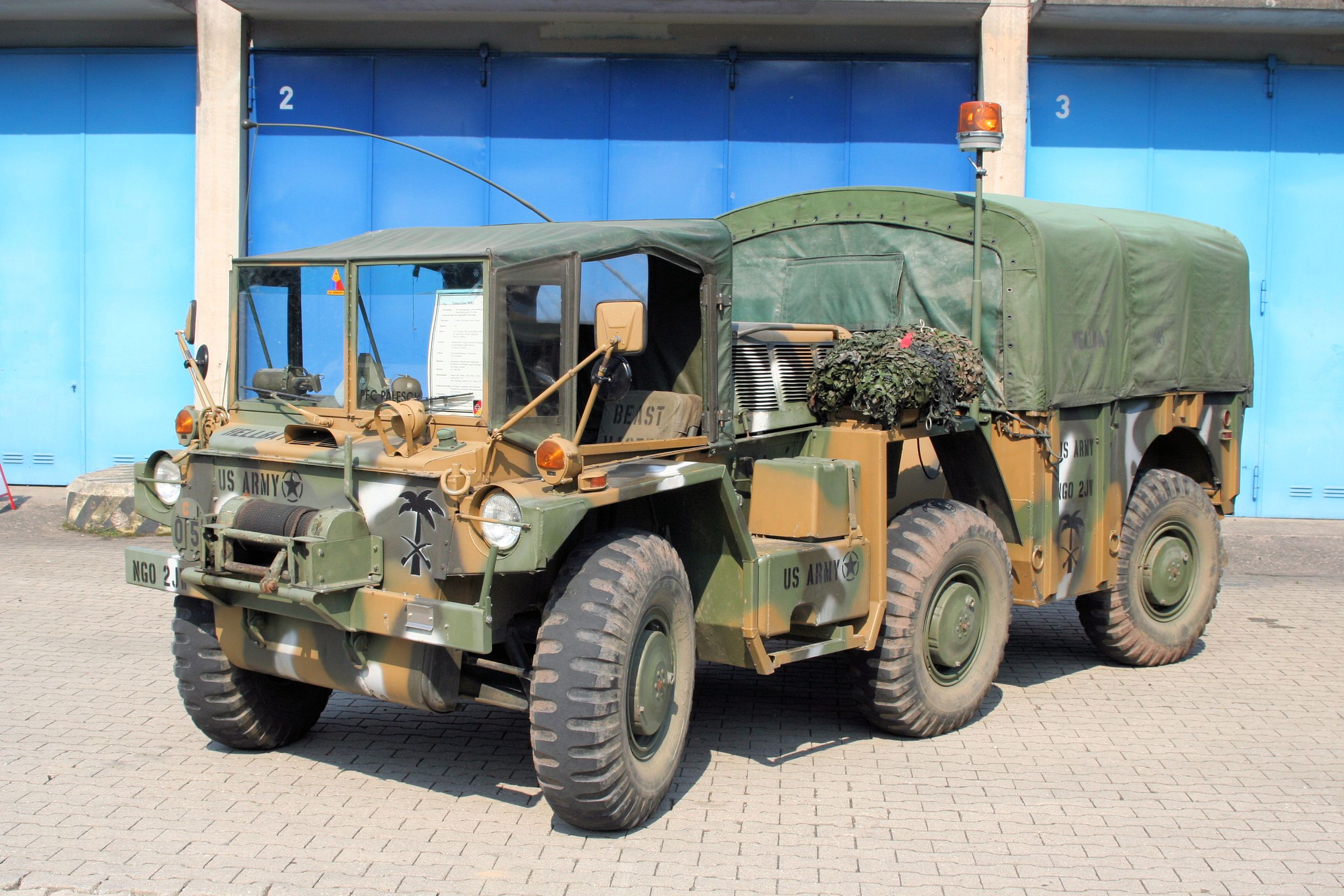 Gamma Goat Military Vehicle For Sale