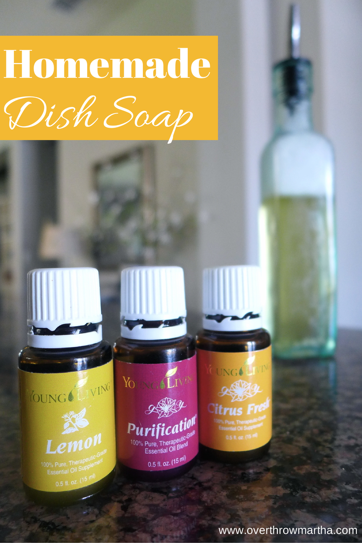 Amazingly Easy DIY Citrus Dish Soap Essential oils