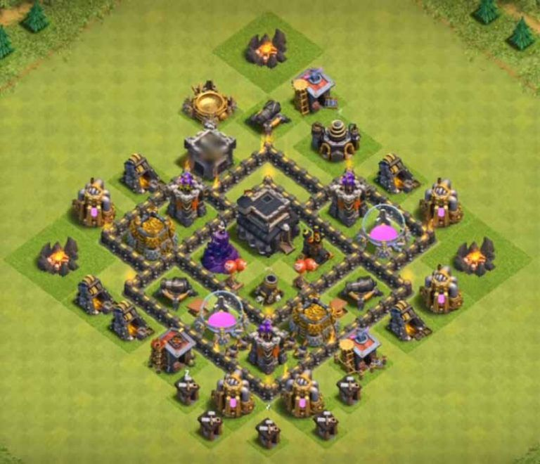 Best Th5 Base Layout 2019 4