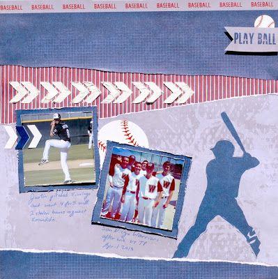 Baseball page by Muse Amy