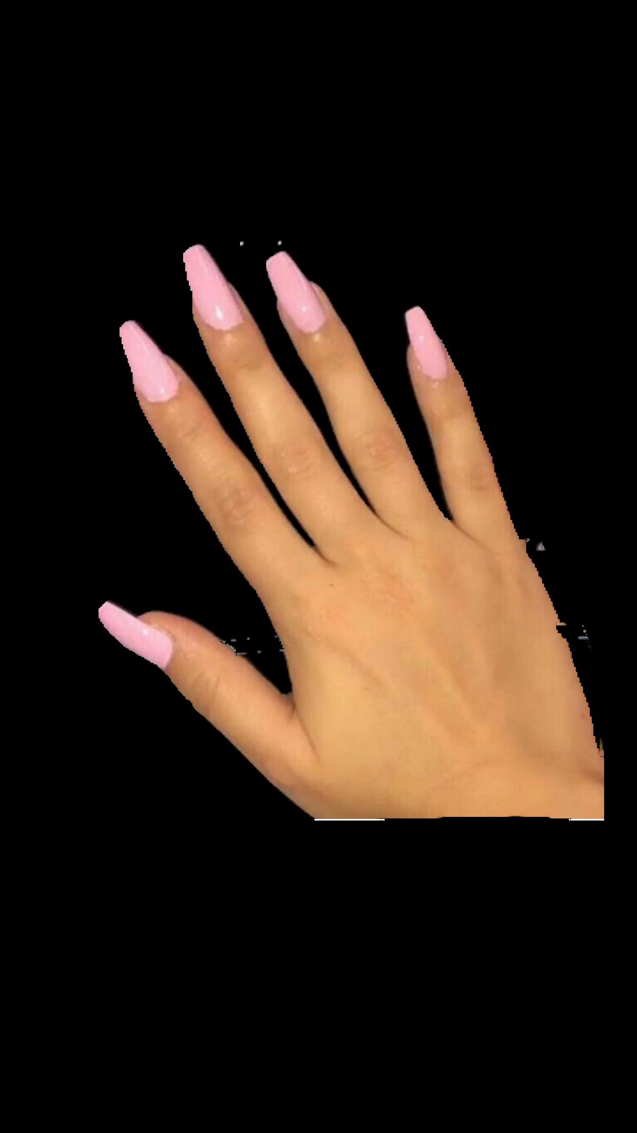Tan Pink Nails Hand Polyvore Moodboard Filler Image Nails Gel Manicure Nails Acyrlic Nails