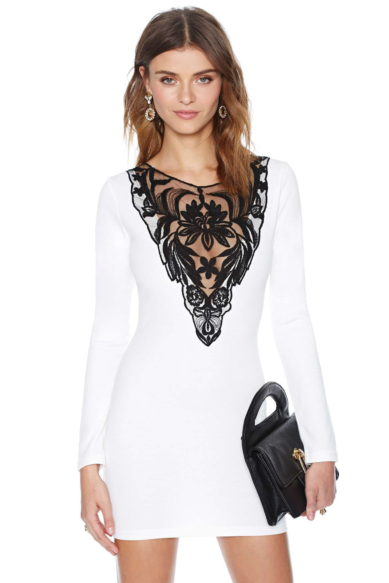 Nasty Gal French Love Dress  cb799f357c18