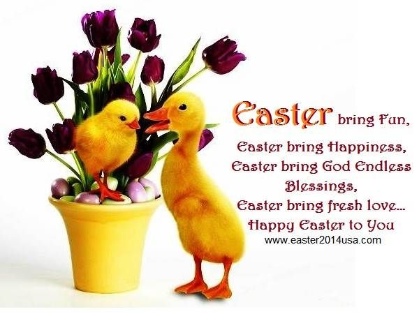 Easter Quotes For Facebook Status: Happy Easter 2014 Sms, Quotes, Sayings, Status For