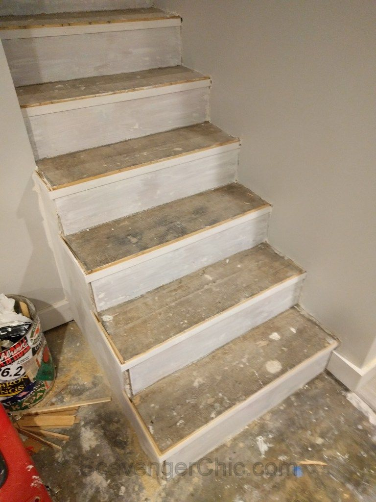 New Treads For Old Stairs, Remodel Reface And Refinish Old Stairs 016