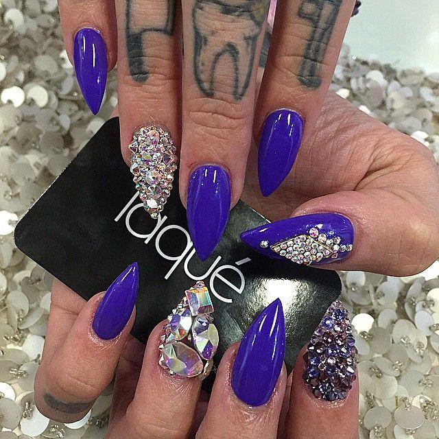Laque Laquenailbar Getlaqued Nails Swag Nails Star Nails