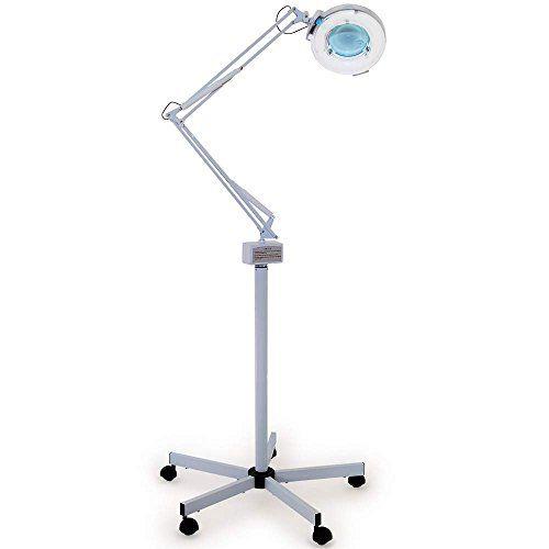 Nice esthology premium magnifying floor lamp 5 diopter w rolling nice esthology premium magnifying floor lamp 5 diopter w rolling base aloadofball Images