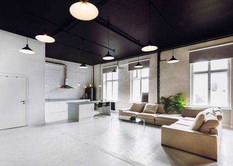 Apartment and conference space in Warsaw by Maciej Kurkowski and ...