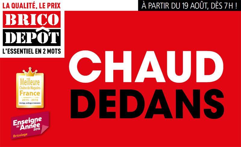 Le Catalogue Brico Depot Du Mois D Aout Http Blog Brico Depot Fr Radiateur Delonghi Arrivages Brico Depot Html Danger Sign