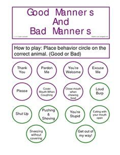 photograph about Free Printable Manners Worksheets identified as Totally free Printable Worksheets With regards to Very good Manners - absolutely free