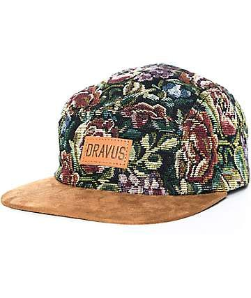ac2c3d9e8 Dravus Interwingled Floral Strapback Hat | Hats in 2019 | Hats ...