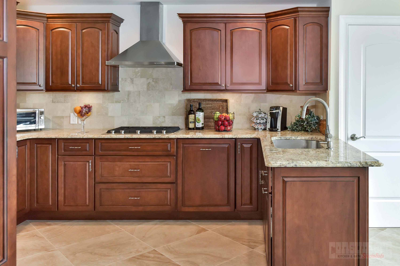 Massapequa Gold - Consumers Kitchen Showcase Design - Long Island