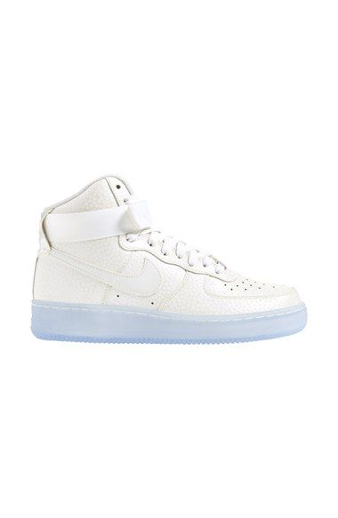 cheap for discount 45ff2 62fe4 Nike  Air Force 1 Hi Premium  Leather High Top Top Top Basket WoFemme 55bf79
