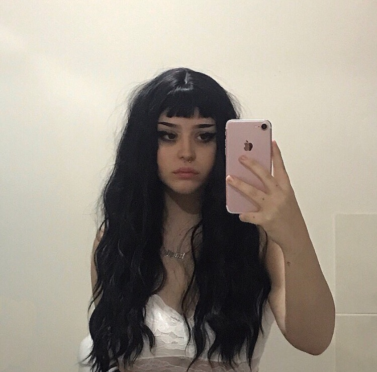 P00rme On Instagram Shared By Puppy Love On We Heart It Goth Hair Aesthetic Hair Hair Inspiration