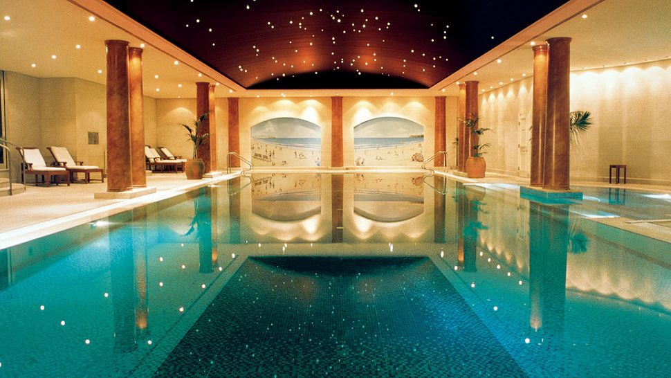 Indoor Pool Room] Luxe Indoor Pools Living Room Swimming Pool ...