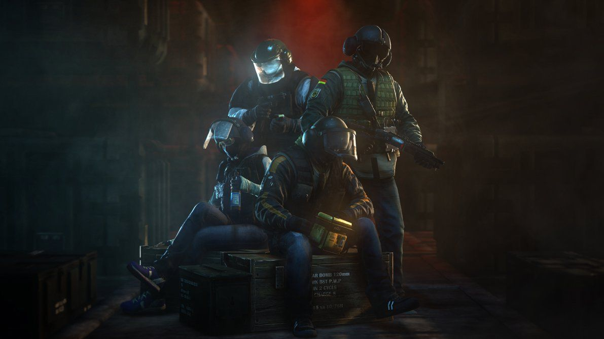 Bandit And Jager 3 With Images Rainbow Six Siege Art Rainbow
