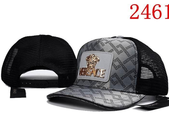 7a118ae7a4652 Versace Mesh Caps