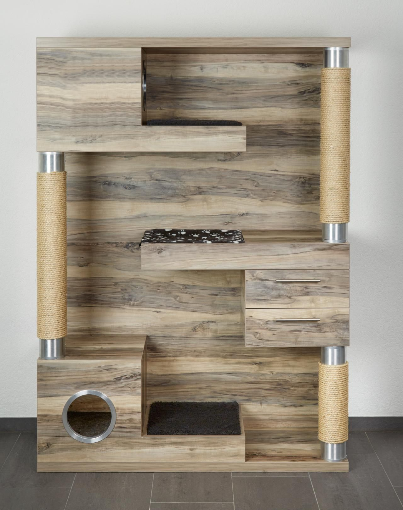 katzenbaum cat tree diy m bel pinterest katzen katzen zubeh r und kratzbaum. Black Bedroom Furniture Sets. Home Design Ideas
