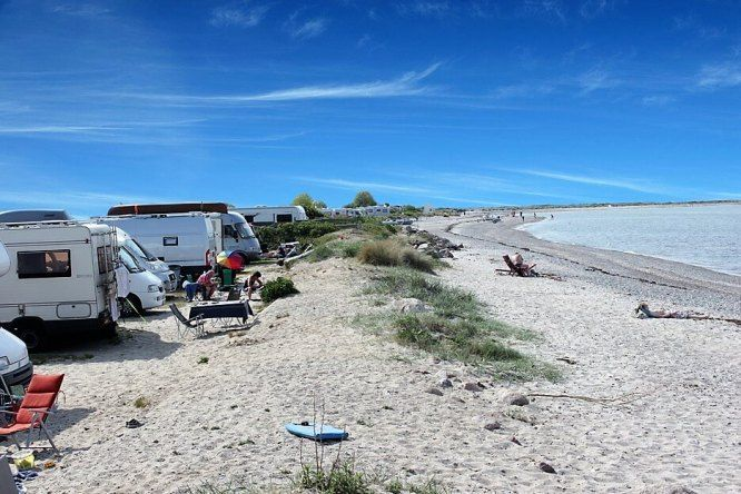 Photo of StrandCamping Fehmarnbelt: casual camping on the endless beach!