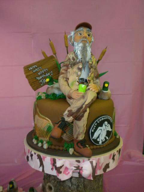 Pin by Rita Fowler on Birthday Cakes Pinterest Duck dynasty