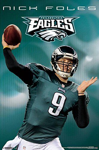 e938bdf7504 Nick Foles Philadelphia Eagles Posters | Cool Philly Eagles Fan Gear ...
